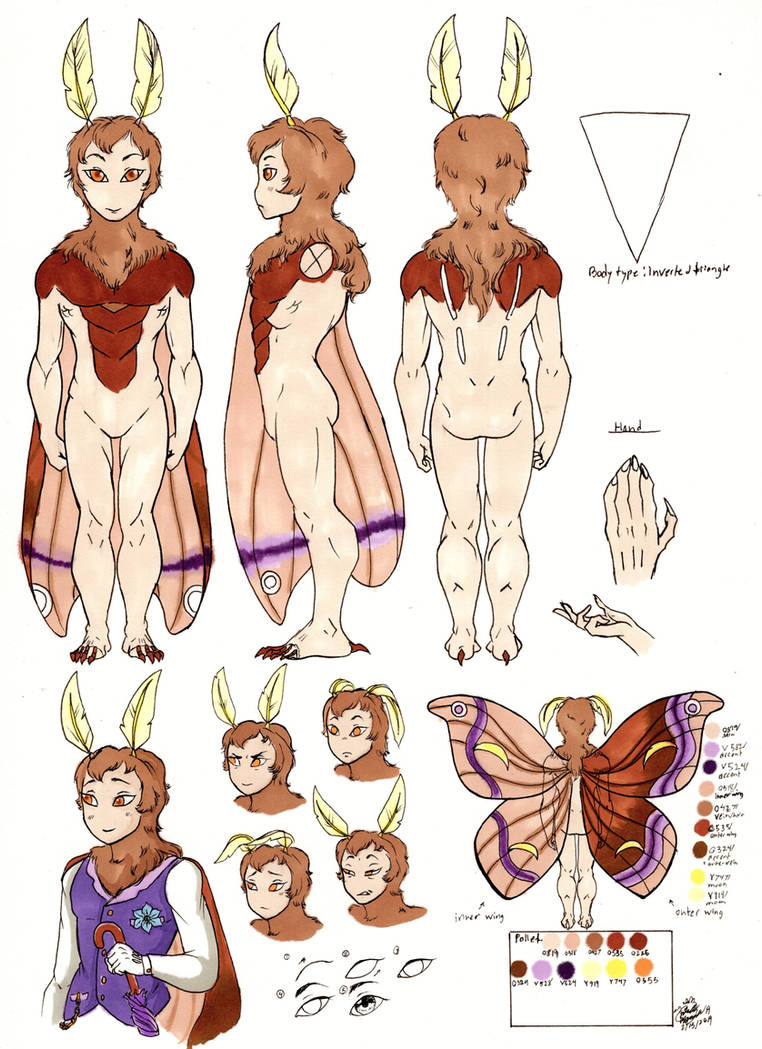 Fennel Eri character reference (bio in descrption) by Untraceablemystic
