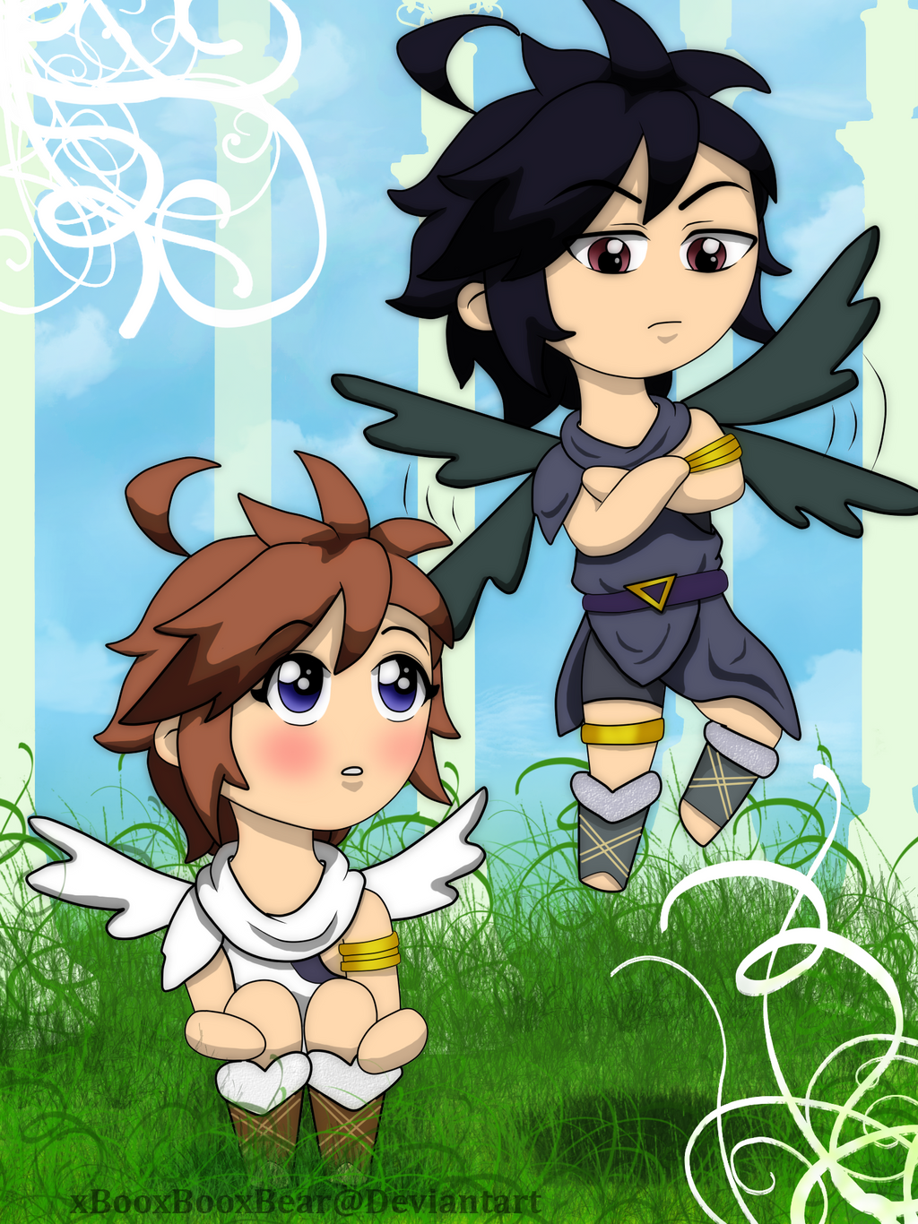 Kid Icarus On Putmedown