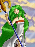 Goddess of Light by xBooxBooxBear