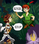 Peter Pan and Pit