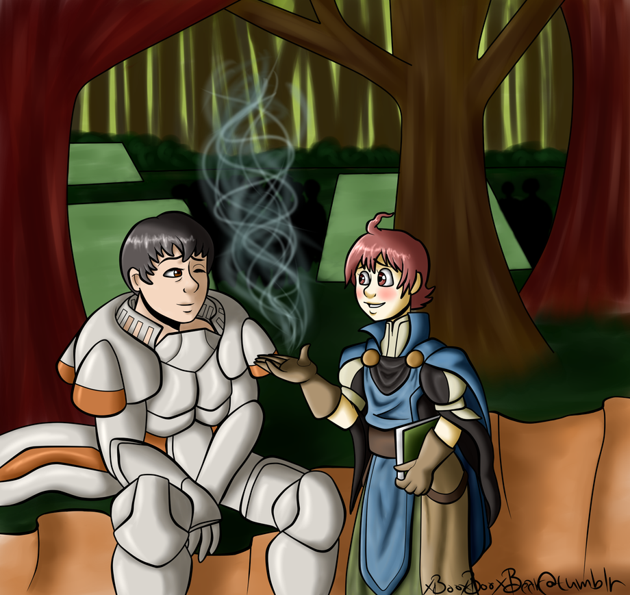 Ricken and Kellam by xBooxBooxBear