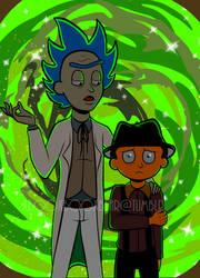 Rick And Morty #4 by xBooxBooxBear