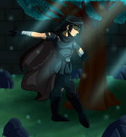 The Knight by xBooxBooxBear