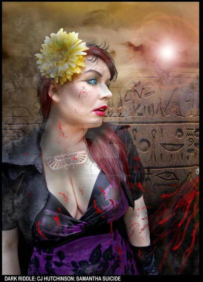 Artist Dark Riddle  Model Samantha Wpg.Com by VisualEyeCandy