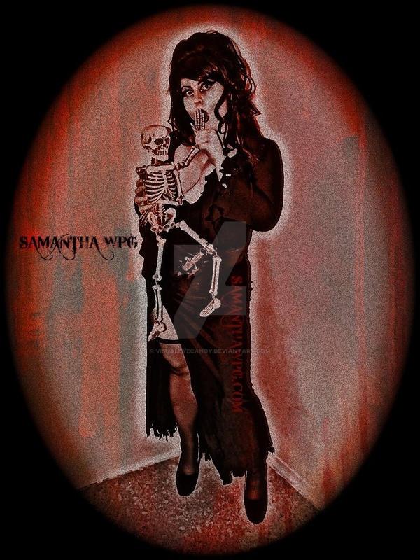 B film cheesy Elvira model samanthawpg.com by VisualEyeCandy