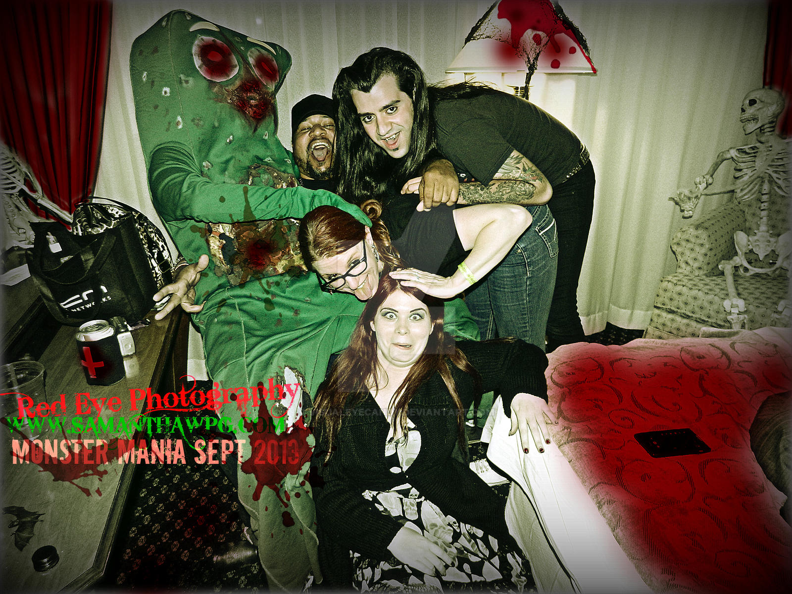 Monster Mania Sept 2013 Room 1130 at 11:30 by VisualEyeCandy