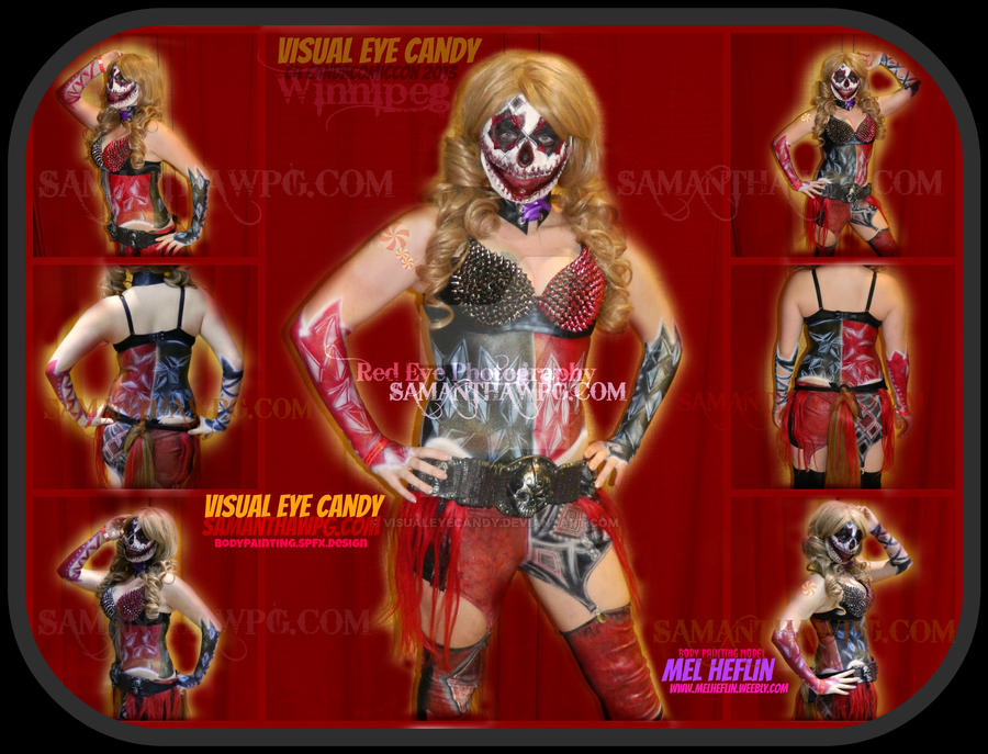 Horror Harlequinn by VisualEyeCandy