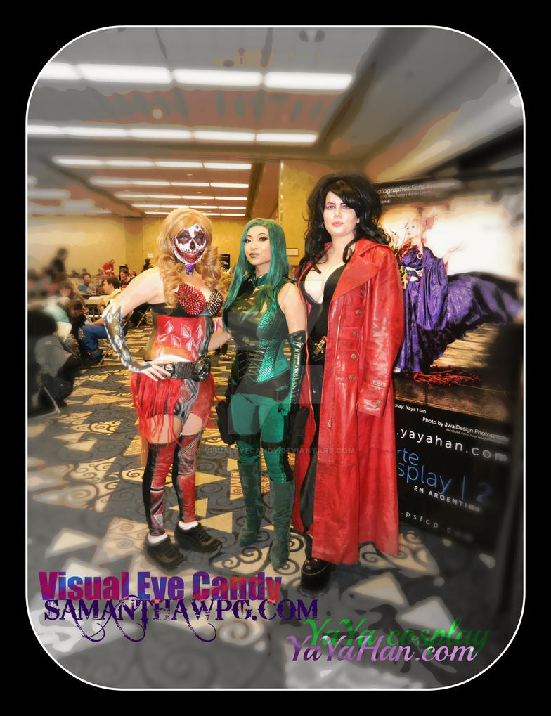 Yaya Han cosplay meet and greet C4 comic con 2013 by VisualEyeCandy