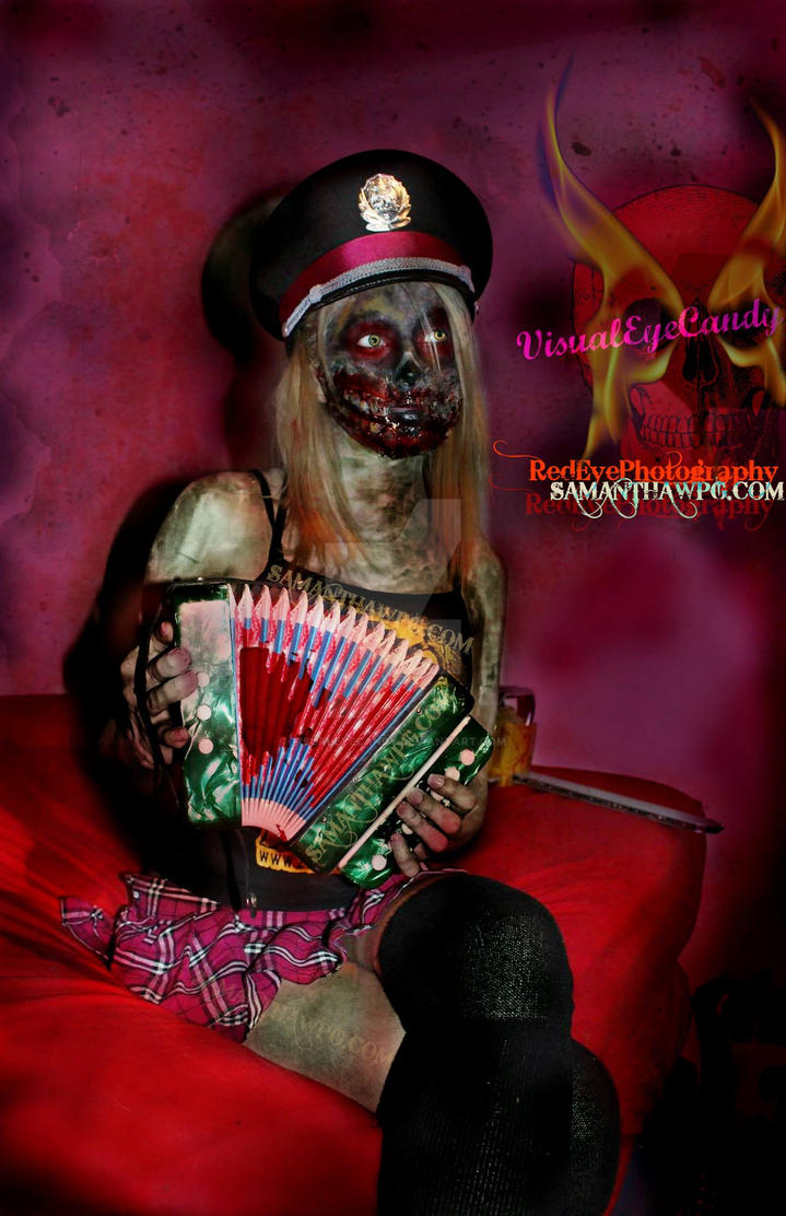 Zombies love to play the Accordion !!! by VisualEyeCandy