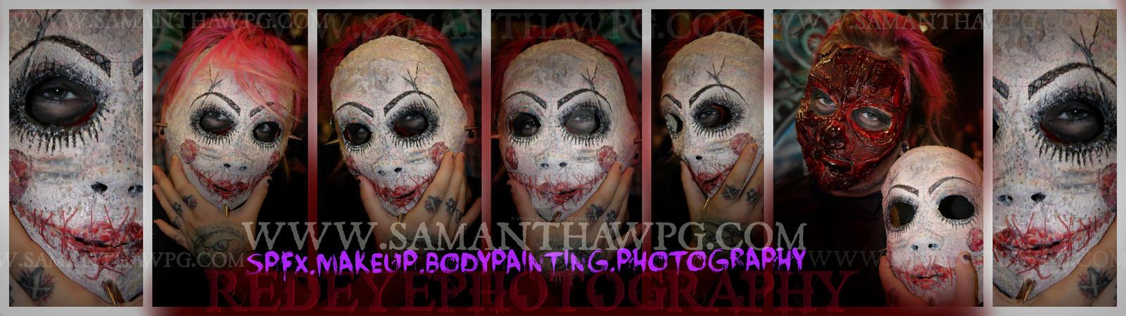Creepy Doll Mask by VisualEyeCandy