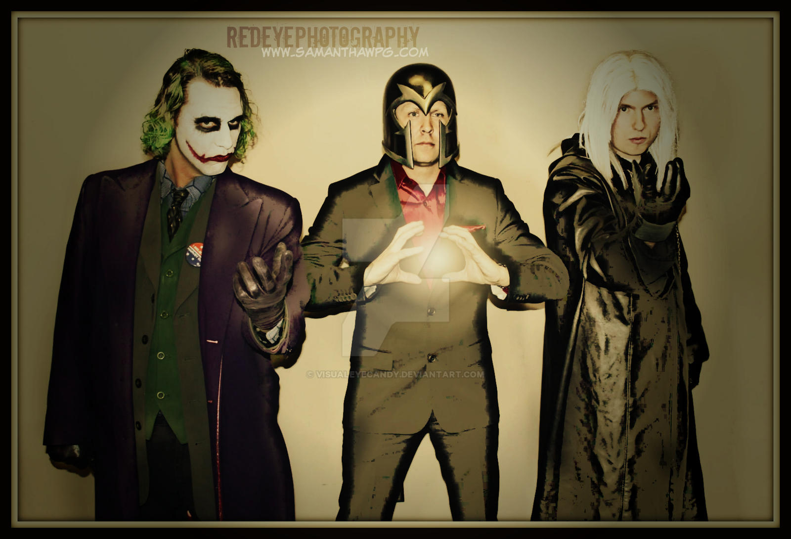 Cos Play Joker and his crew by VisualEyeCandy