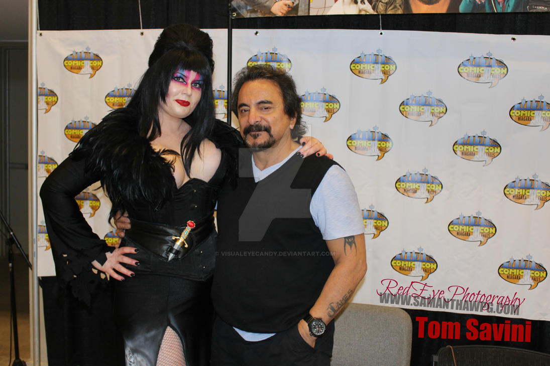 Tom Savini Niagara Fall Comic Con 2015 by VisualEyeCandy