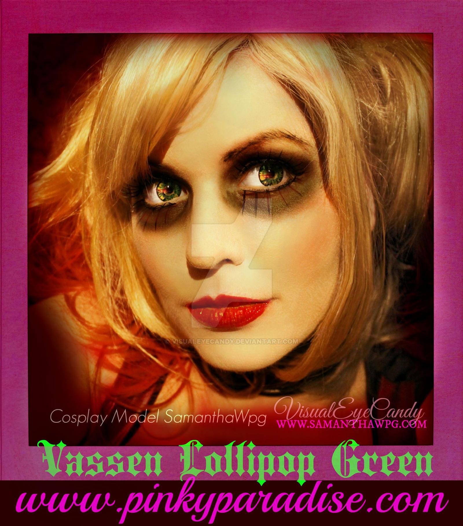 SamanthaWpg Arkham HarleyQuinn Cosplay by VisualEyeCandy