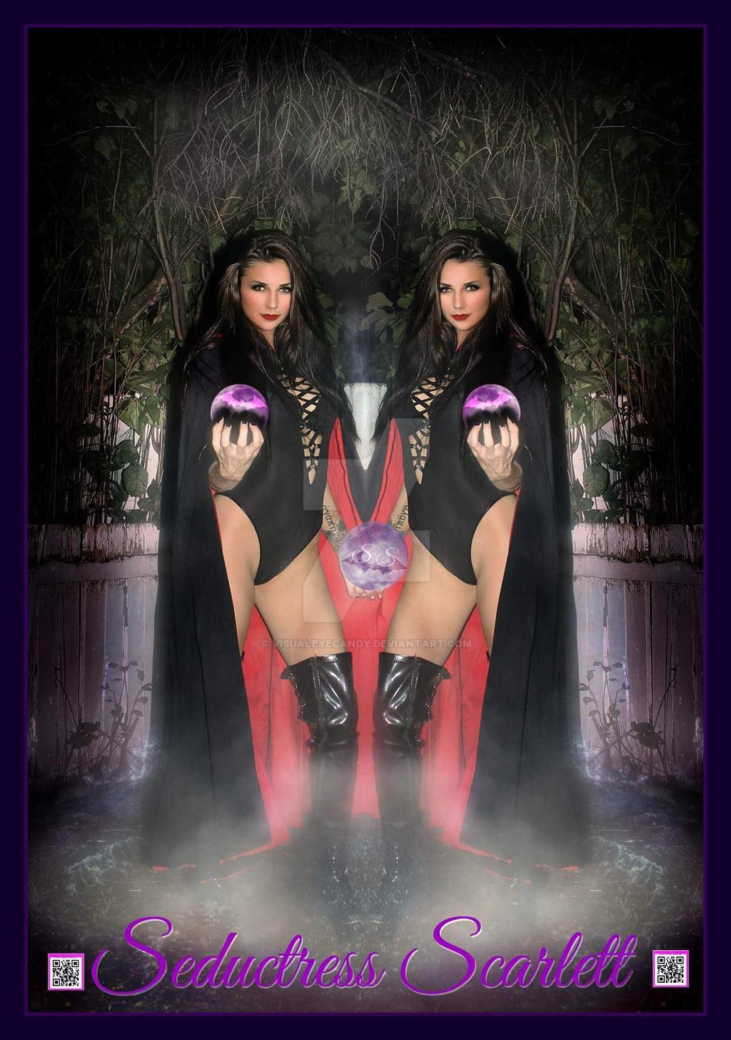 Seductress Fire Vampire  by VisualEyeCandy