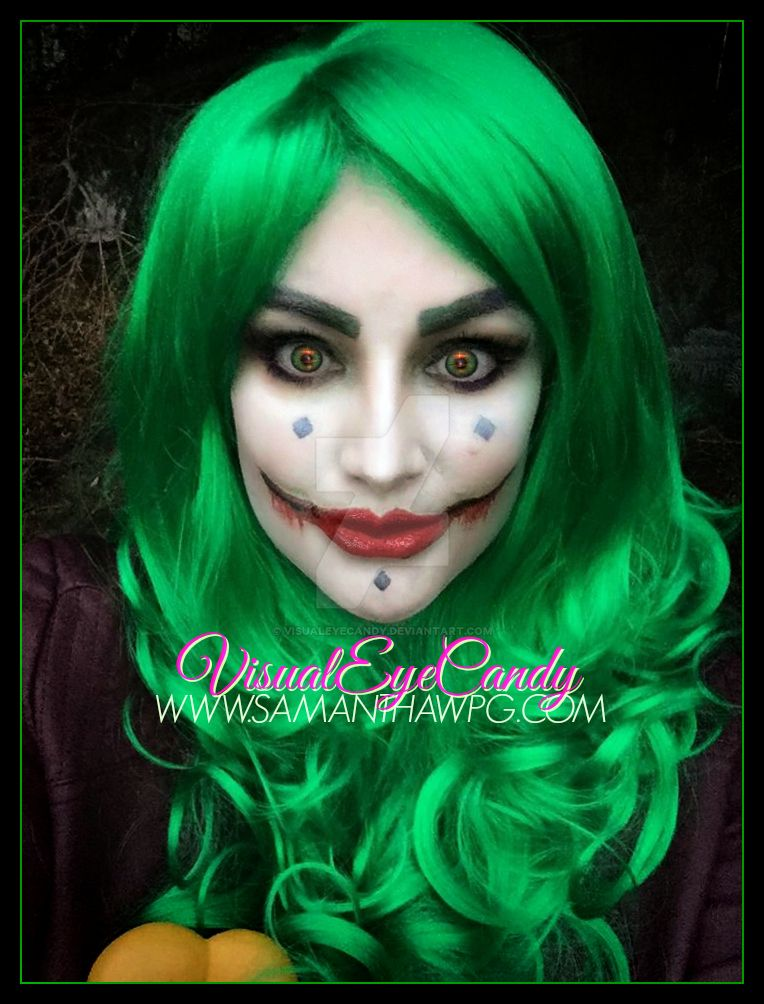 Female Joker Halloween 2016 by VisualEyeCandy