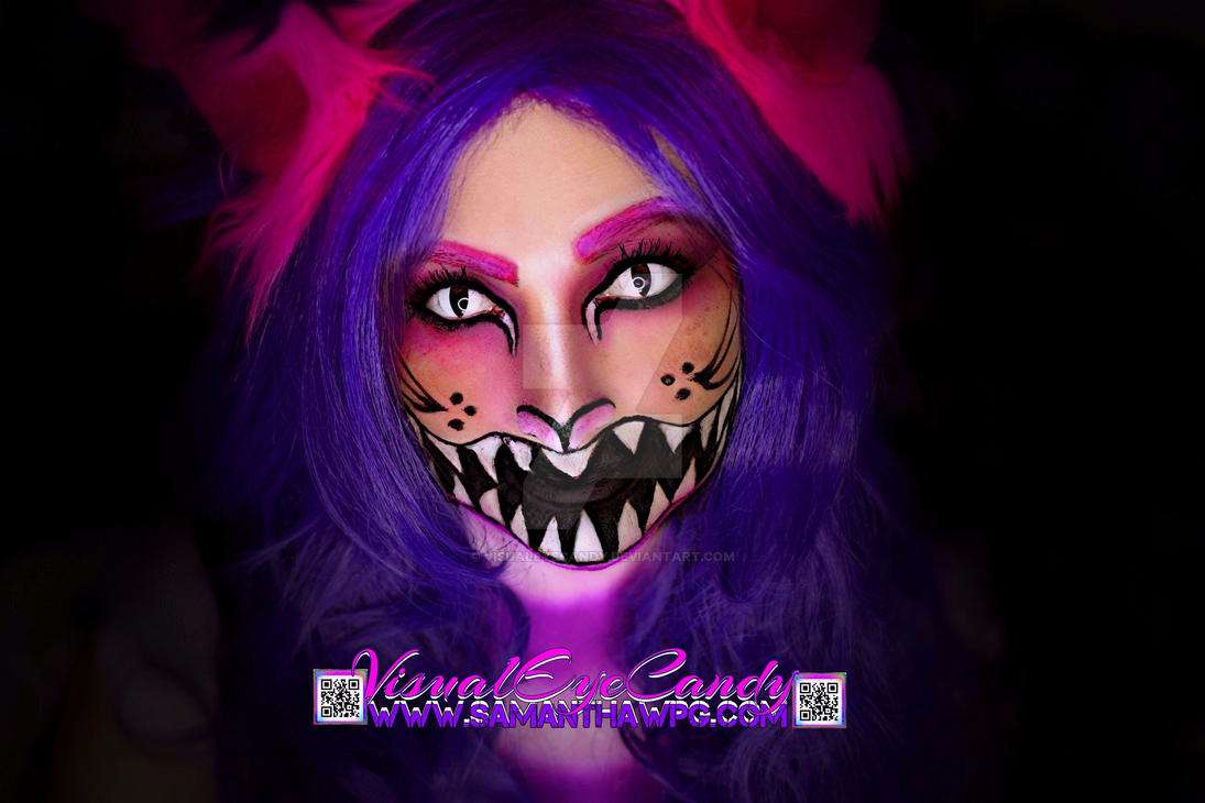 Cheshire cat Makeup By VisualEyeCandy by VisualEyeCandy