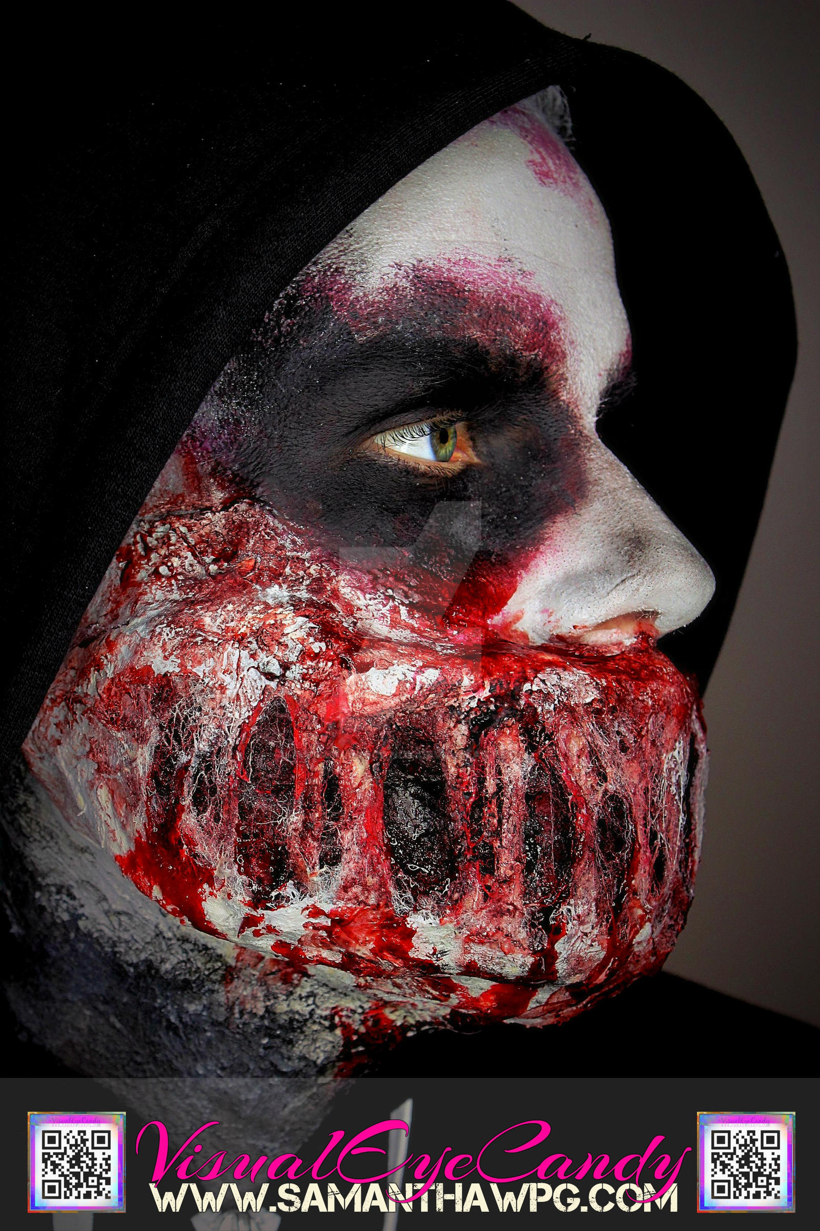 Side Profile of Zombie Mouth VisualEyeCandy by VisualEyeCandy