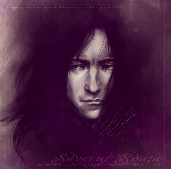 Speedpaint - Severus Snape