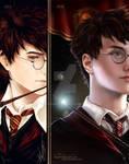 Harry Potter Bookmark -2012-2018-