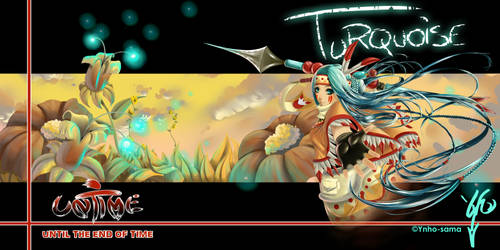 Turquoise Untime Character by Ynho-sama