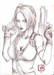 Lara Croft by Ynho-sama