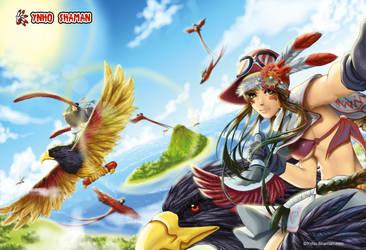 Shaman Bird by Ynho-sama