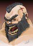 Street Fighter's Zangief