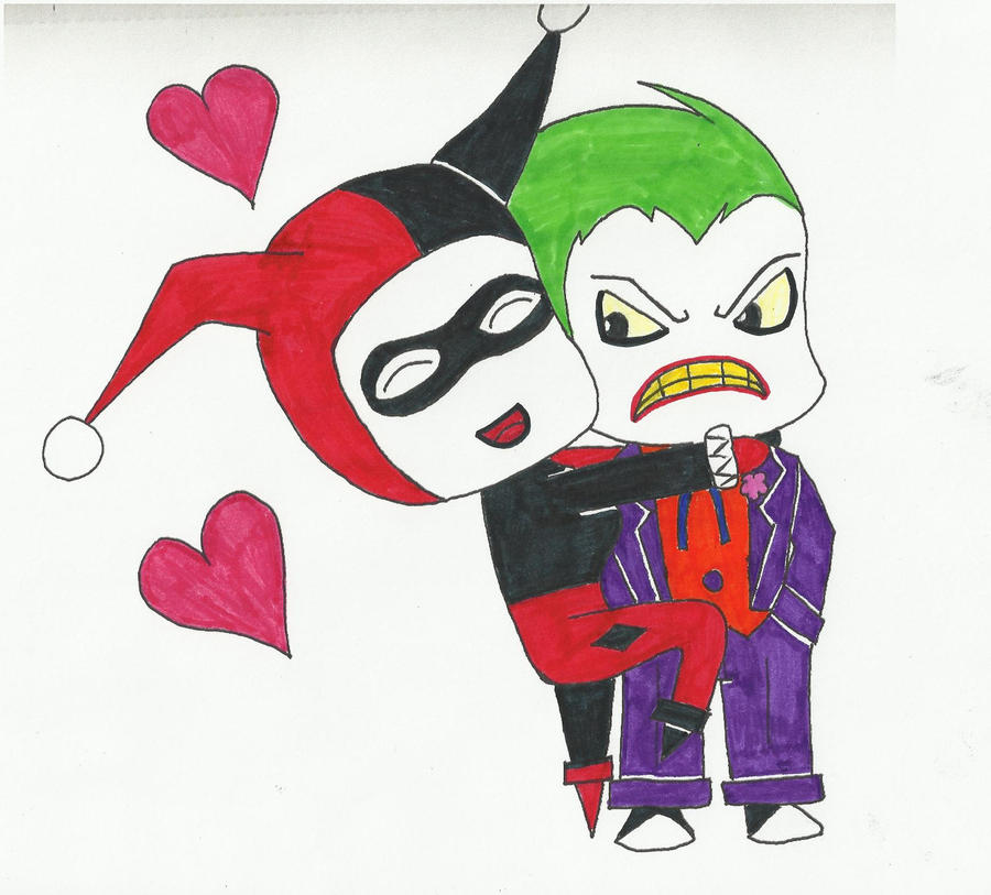 Joker And Harley Quinn Chibi | www.imgkid.com - The Image ...