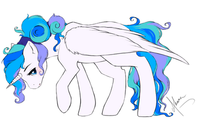 Princess Cassandra - daughter of Adele by IllLearnHowToFly