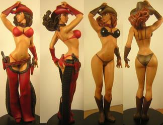 Sexy Cowgirl by eskulltor