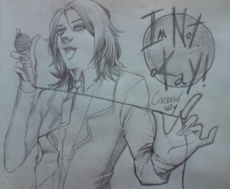 Gerard Way 1 by sue-gi