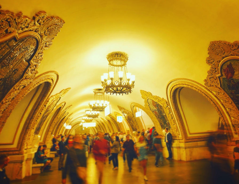 Rush hour in Moscow by pueng2311