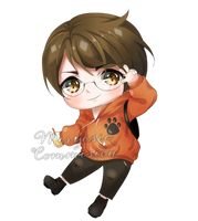 [Chibi Commission] Mr.Bi by Meryosie