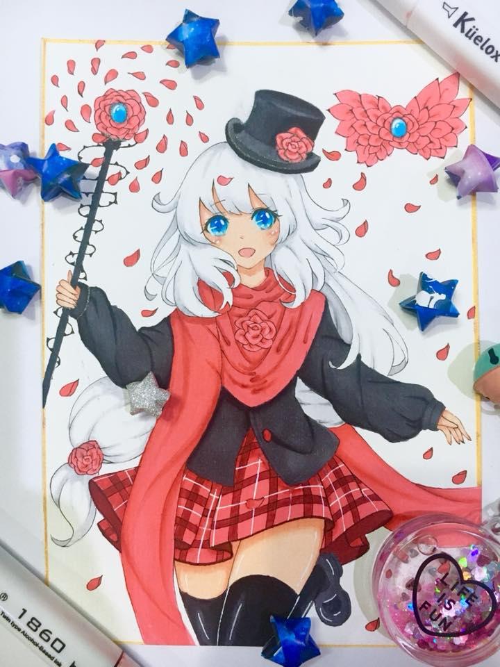 Magical Girl by Meryosie
