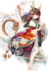 Puzzle and Dragons - Tsubaki
