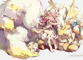 puzzle_and_dragons - cotton by nnnnoooo007