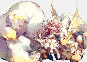 Puzzle and Dragons - COTTON (modify) by nnnnoooo007