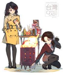 TAIWAN OfficeLady - Ghost Money by nnnnoooo007