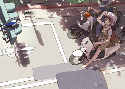 TAIWAN OL - Motorcycle waiting box ?