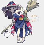 Original Halloween witch - AMIR