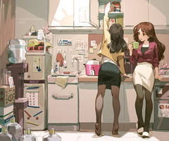 TAIWAN Officelady - pantry room