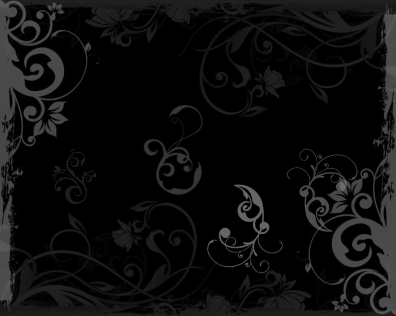 25+ Stunning Black Wallpaper