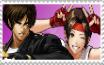 Kyo X Yuri stamp by JedahDohmaPC
