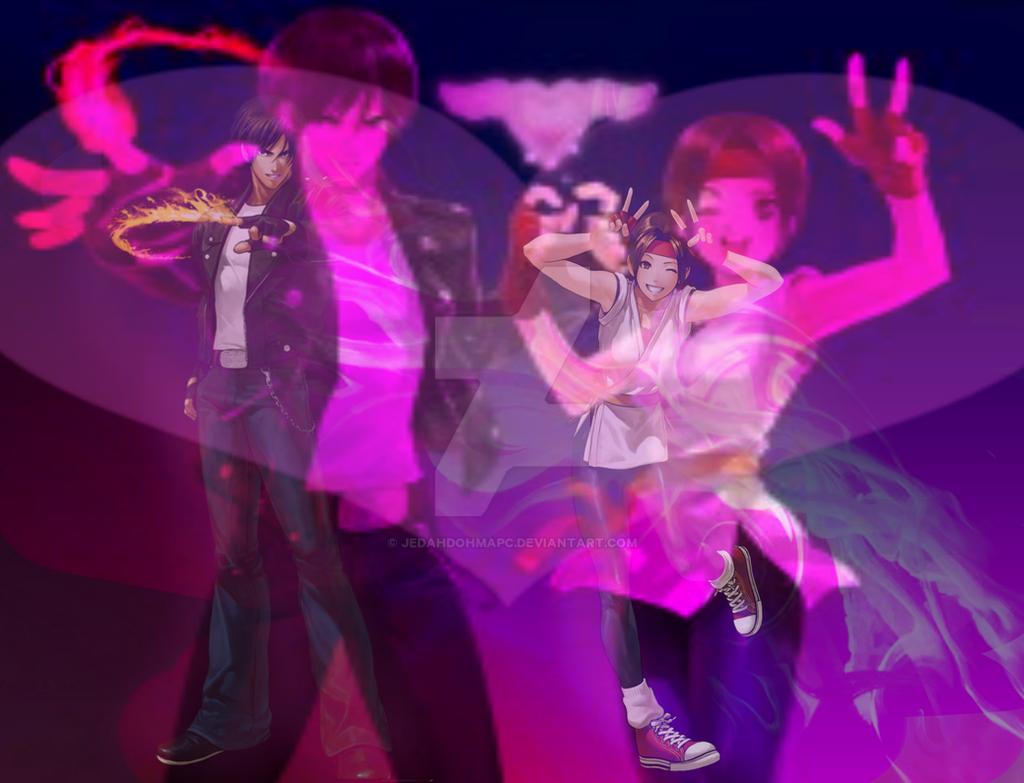 Kyo and yuri Wallpaper  by JedahDohmaPC