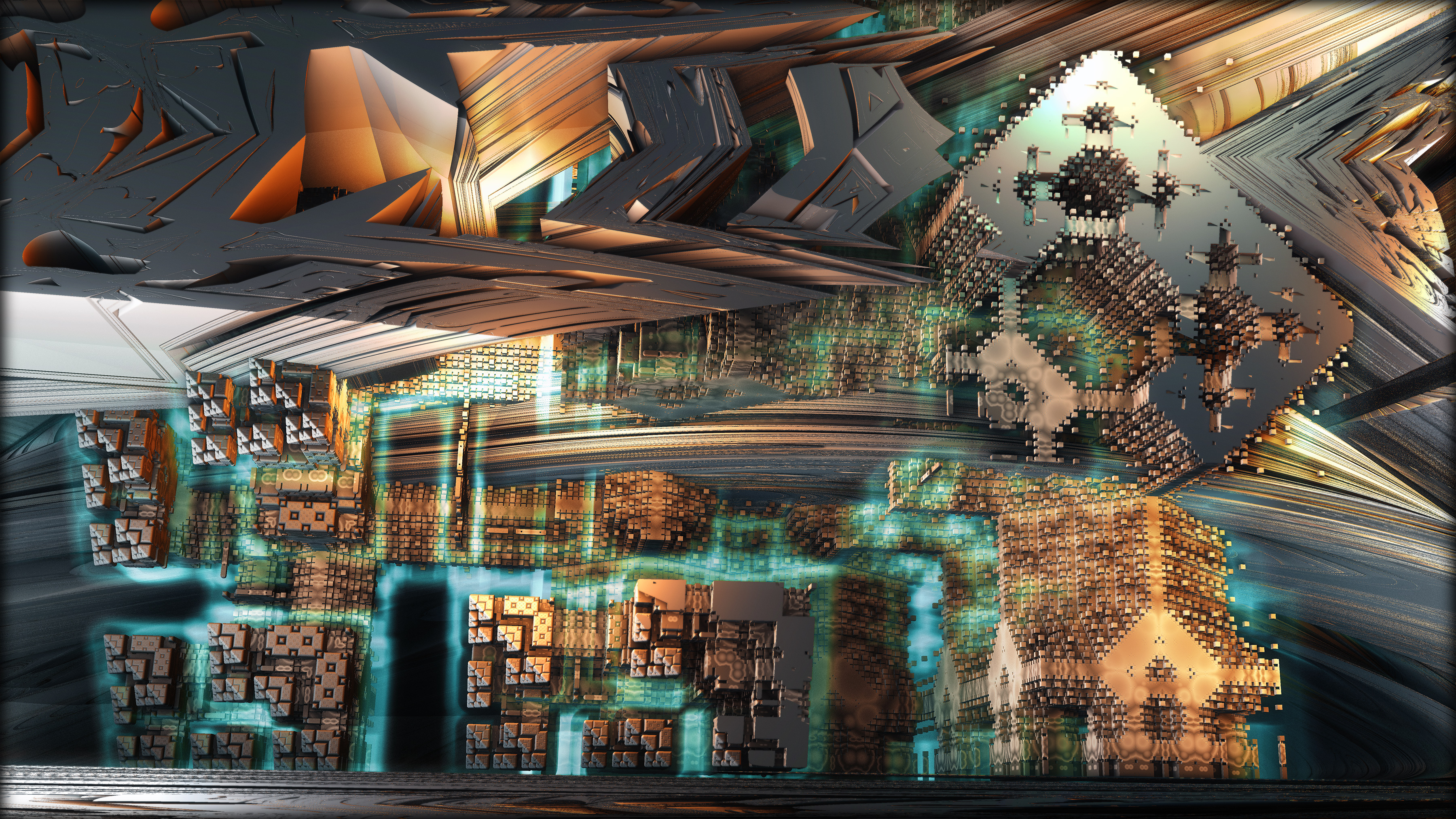 Sigma Cube Catacombs by axolotl7
