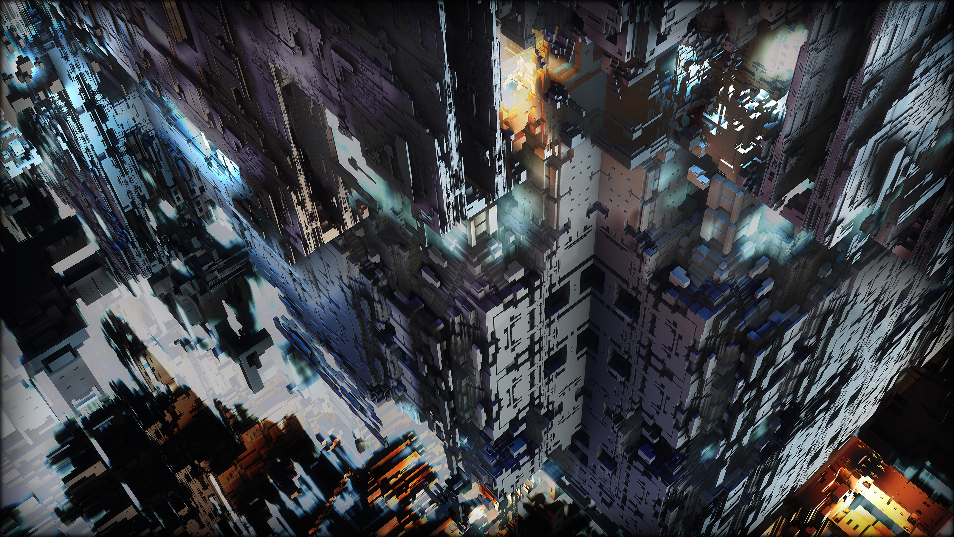 Harsh City Winter by axolotl7