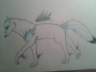 Aisu - Ice wolf