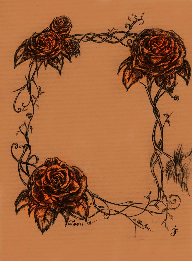 Rose Vines Drawings Rose Vine Art Rose And Vines