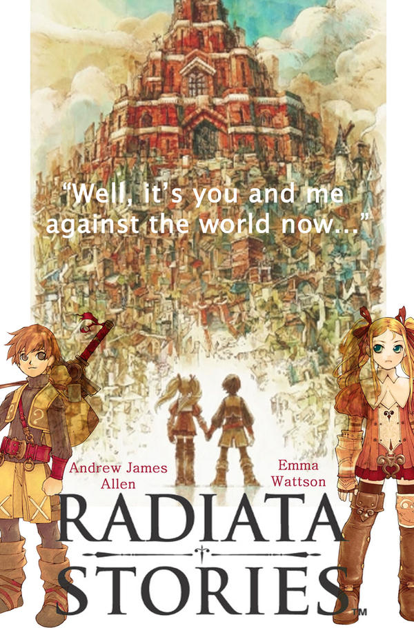Radiata Stories Movie Poster By Kikurukina