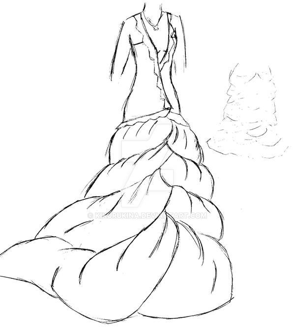 wedding design dress